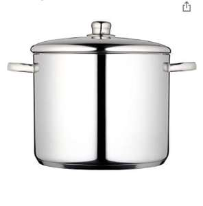 MasterClass Induction-Safe Stainless Steel Stock Pot with Lid 7 Litres £21.99 Amazon Prime Exclusive
