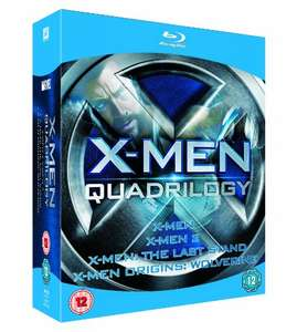 X-Men Quadrilogy Blu ray - X-Men, X-Men 2, X-Men: The Last Stand, X-Men Origins: Wolverine (used) £3.23 delivered with code @ World of Books