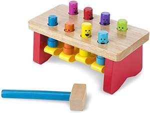 Melissa & Doug Deluxe Pounding Bench, Developmental Toy, Motor Skills, Problem Solving, Gift for Boy or Girl £6.99 Amazon Prime Exclusive