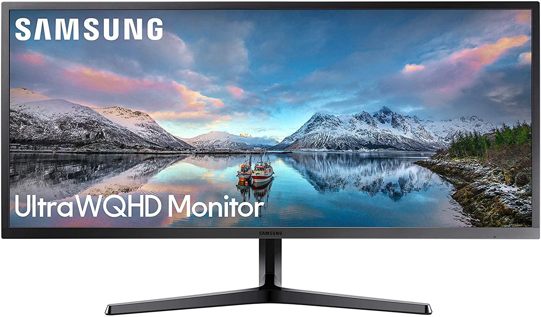 "Samsung LS34J550WQRXXU 34"" SJ55 Ultra Wide WQHD 3440 x 1440p Freesync 4ms 75Hz LED Monitor - HDMI, DP for £259 Amazon Prime Exclusive"