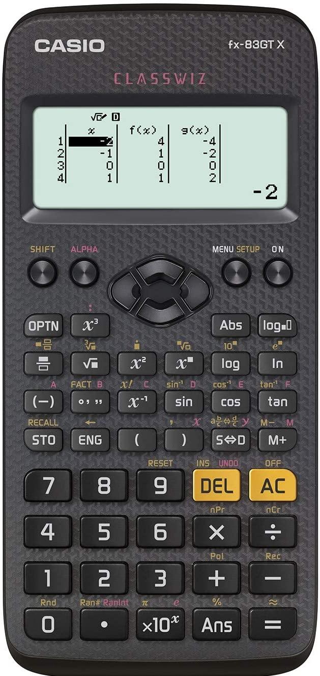 Casio FX-83GTX Scientific Calculator £9.99 (+£4.49 nonPrime) Amazon