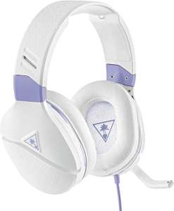 Turtle Beach Recon Spark White & Lavender Gaming Headset for Xbox One, X/S, PC, Nintendo Switch, PS4, PS5 - £29.99 Amazon Prime Exclusive