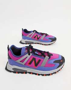New Balance X Racer Utility Mens Trainers in Pink £38.55 Delivered (With Code) @ ASOS