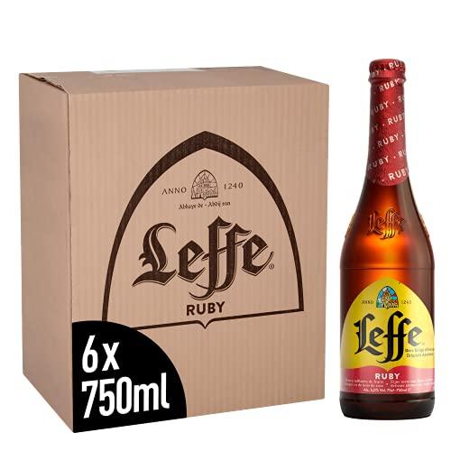 Leffe Ruby Belgian Abbey Beer Large Bottle 6 x 750 ml - £14.49 Amazon Prime Exclusive