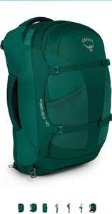 Osprey Europe Women's Fairview 40 Travel Pack Rainforest Green Backpack £42.99 Amazon Prime Exclusive