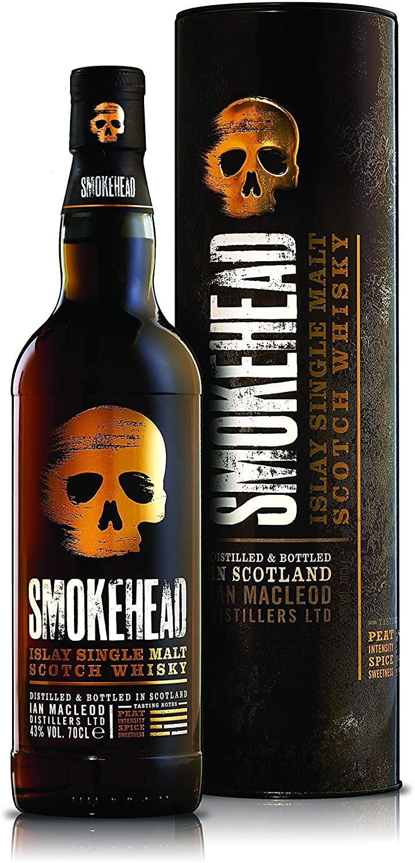 Smokehead Islay single malt scotch whisky £23.99 Amazon Prime Exclusive