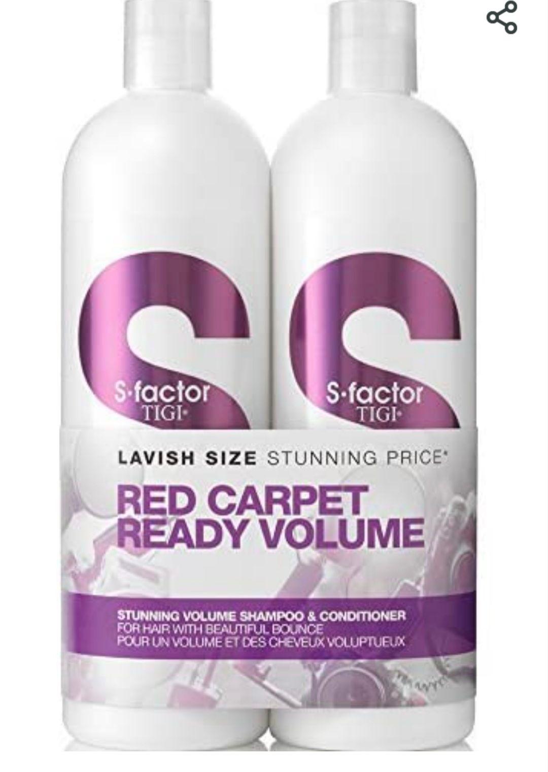 Tigi S Factor Red Carpet Ready Volume Shampoo and Conditioner 2x 750ml - £6.77 Amazon Prime Exclusive