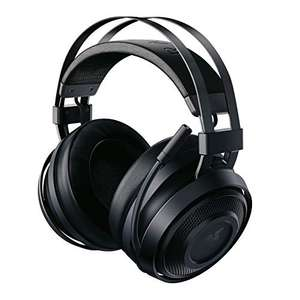 Razer Nari Essential Wireless Gaming Headset ear pads with cold gel, THX Spatial Audio & RGB Chroma £59.99 Amazon Prime Exclusive