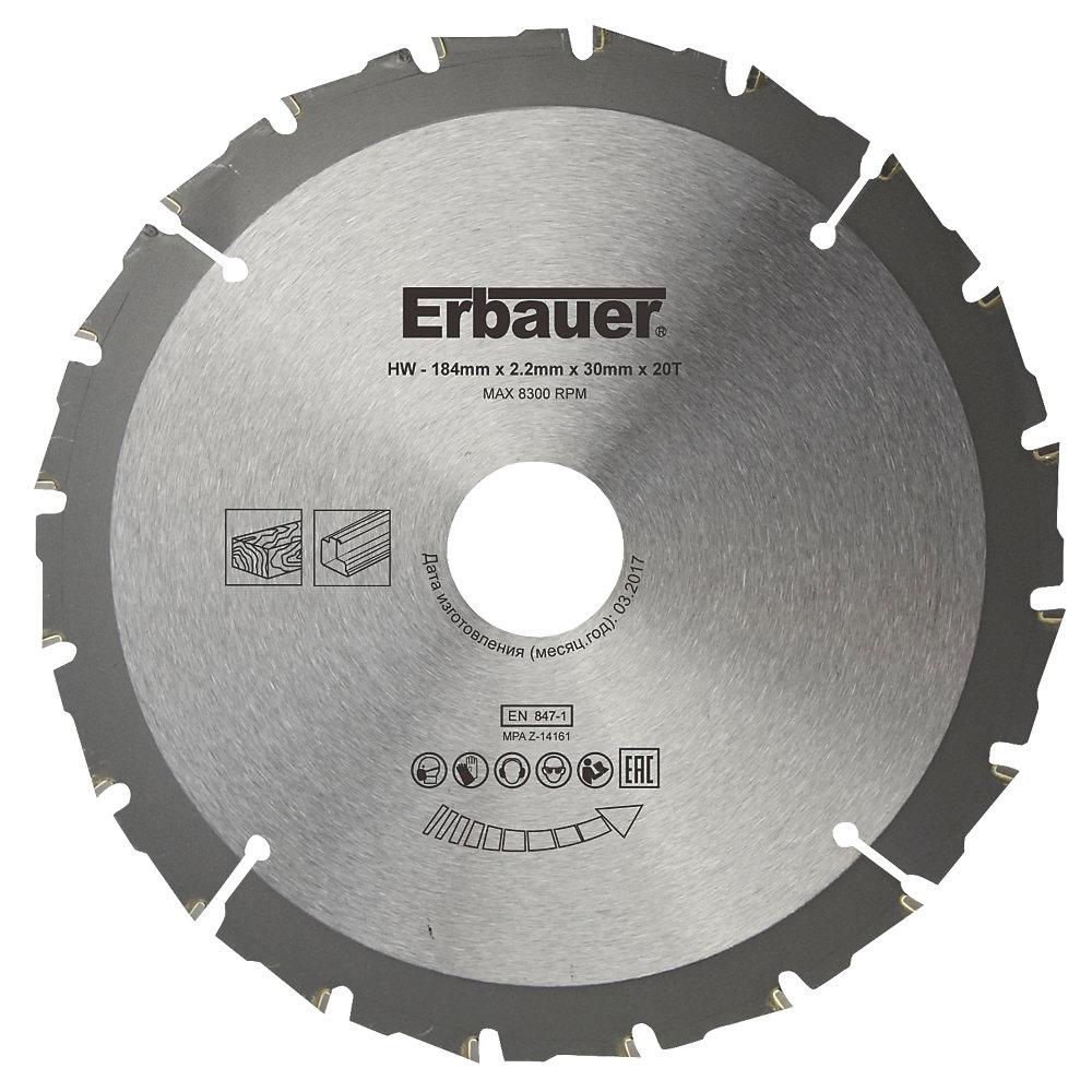 Erbauer Circular Saw Blade 184 x 30mm 20T - £6.99 Screwfix - click & collect