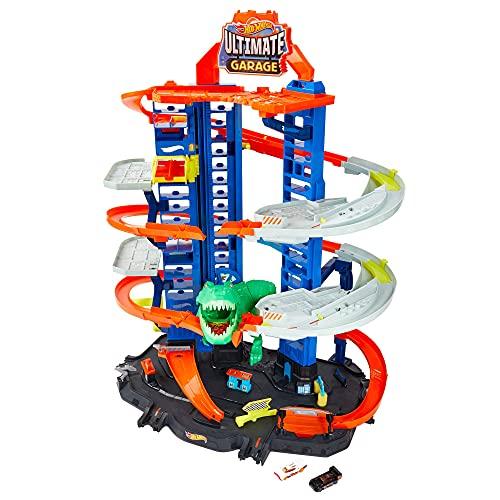 Hot Wheels City Ultimate Garage, Chomping T-Rex £48.89 (Prime Members) @ Amazon