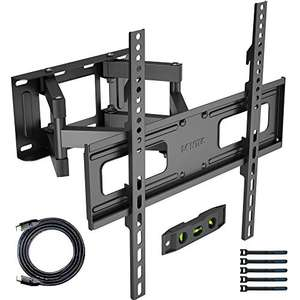 BONTEC TV Wall Mount for 23-60 - £18.89 with voucher Sold by bracketsales123 and Fulfilled by Amazon