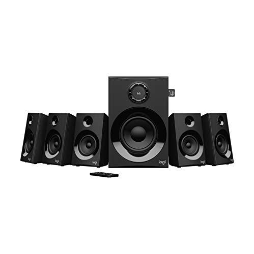 Logitech Z607 Wireless Bluetooth 5.1 Speaker System, Surround Sound, 160 Watts 3.5 mm Audio & RCA Inputs £74.99 Amazon Prime Exclusive