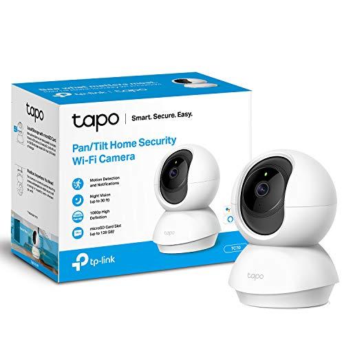 TP-LINK Tapo Mini Smart Security Camera, Indoor CCTV, Works with Alexa & Google Home £20.99 Amazon Prime Exclusive