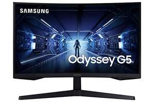 "Samsung Odyssey G5 LC27G55TQWRXXU 27"" 1000R Curved Gaming Monitor 144Hz 1ms 1440p QHD HDR10 HDMI, Displayport £239 Amazon Prime Exclusive"