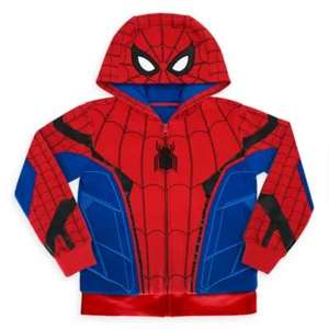 Disney Store Spider-Man / Captain America Hooded Sweatshirt For Kids £17.49 ( was £25 ) + Free Delivery with code @ Shop Disney