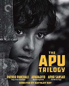 The Apu Trilogy (Criterion Collection) UK Only [Blu-ray] [2020] £42 Amazon Prime Exclusive