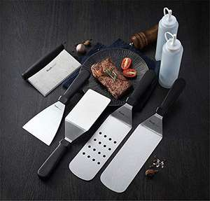 Wanbasion Stainless Steel BBQ Griddle Accessories Set, £13.67 Del (Prime + £4.49NP) Sold by Zhg-Ohpa and Fulfilled by Amazon Prime Exclusive