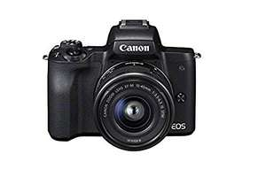 Canon EOS M50 Compact System Camera and EF-M 15-45 mm f/3.5-6.3 IS STM Lens - Black £499 Amazon Prime Exclusive