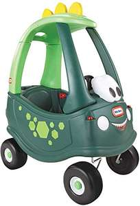 Little Tikes Dino Cozy Coupe Car - Ride-On with Real Working Horn, Clicking Ignition Switch, & Fuel Cap £37.99 (Prime Members) @ Amazon