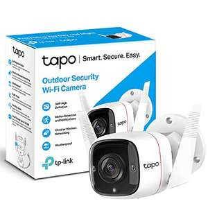 TP-Link Tapo Outdoor Security Camera/CCTV 3MP High Definition C310 £27.99 Amazon Prime Exclusive