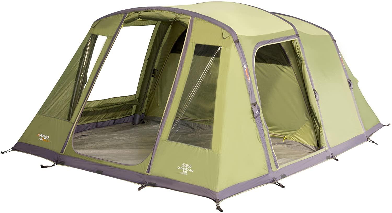 Vango Odyssey Inflatable Family Tunnel Tent, Epsom Green, Airbeam 500 £249.99 Amazon Prime Exclusive