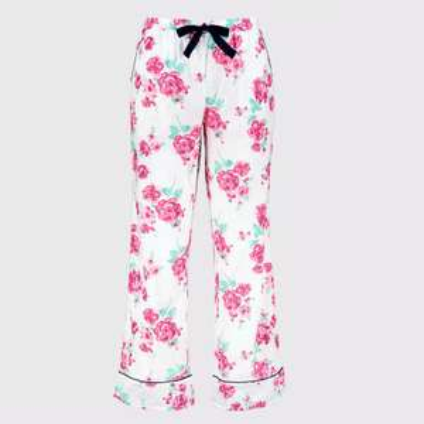 Floral Print Woven 100% Cotton Pyjama Bottoms £3.60 click & collect @ Argos