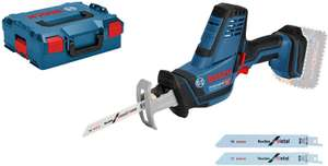 Bosch Professional GSA 18 V - LI C Cordless Sabre Saw (without Battery and Charger), L - Boxx - £94.50 @ Amazon Prime Exclusive