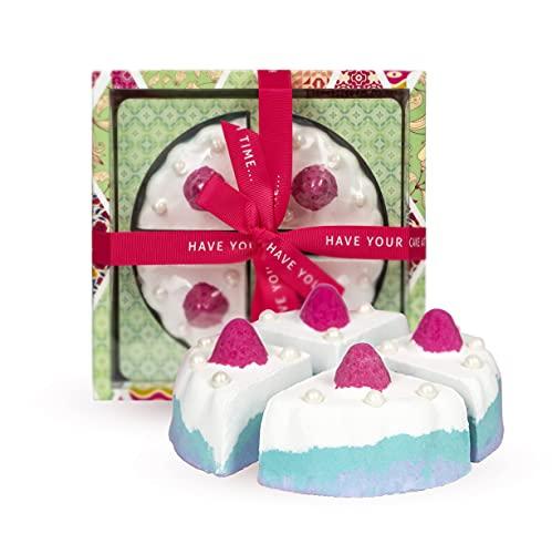 Vintage & Co Beauty Fabrics & Flowers Cake Shape Bath Bomb £13.50 Amazon Prime Exclusive