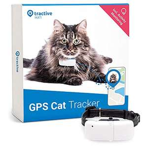 Tractive GPS Cat Tracker (2021) with Custom Cat Collar £24.95 Amazon Prime Exclusive