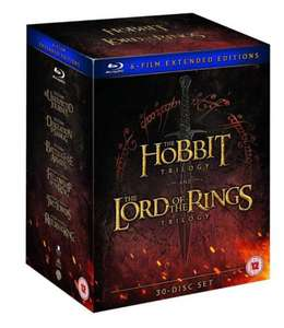 Middle Earth – Six Film Collection Extended Edition (Blu-ray) £44.19 delivered @ Amazon Prime Exclusive