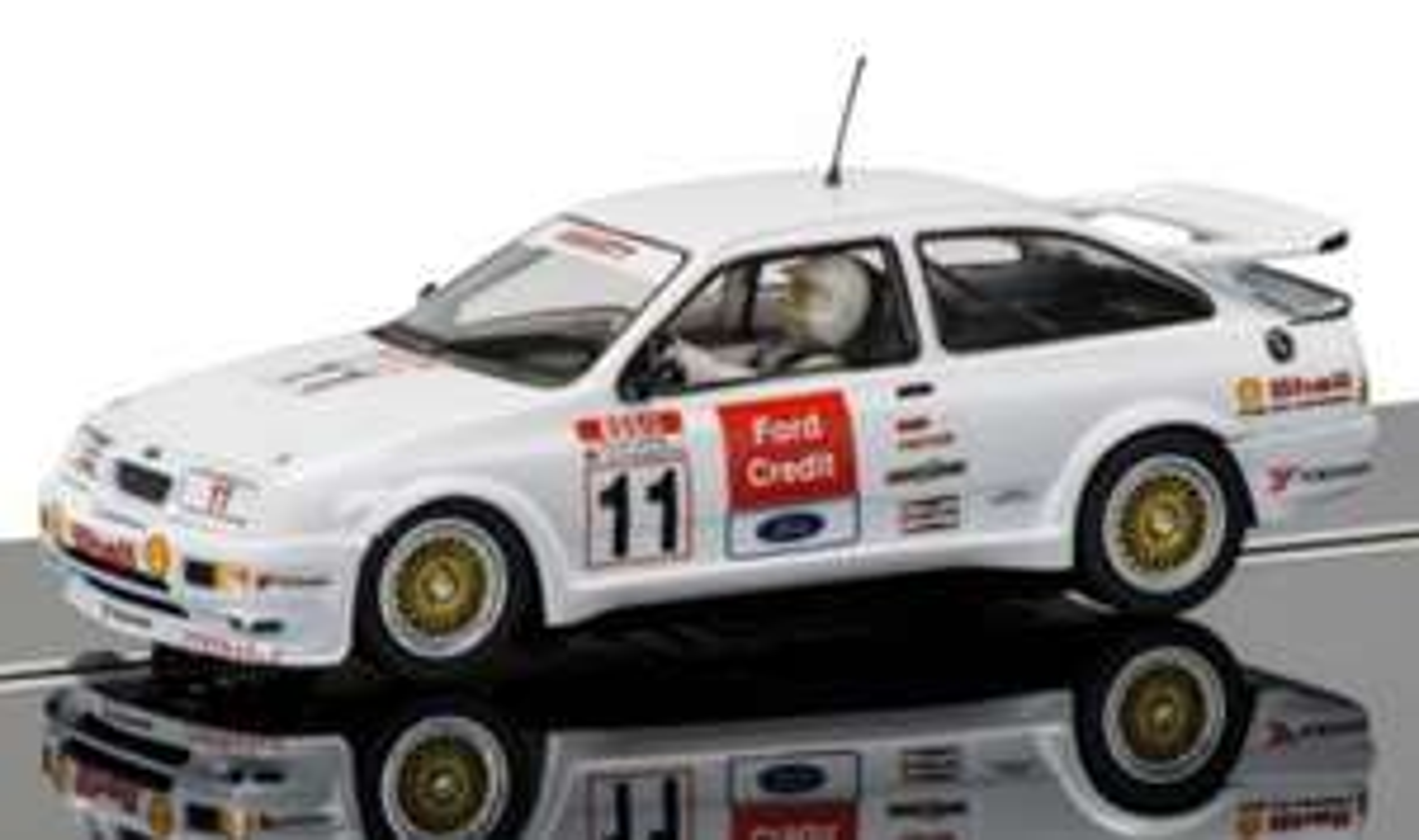 Scalextric C3781 Robb Gravatt BTCC Ford Sierra RS500-Robb Gravett, Brands Hatch 1990 Car £20 (Prime Exclusive) @ Amazon