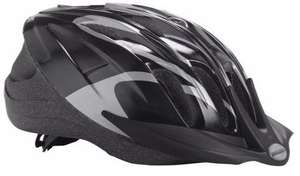 Raleigh Unisex's Infusion Cycle Helmet, Black/Silver, 58-62 cm £12.20 (Prime) + £4.49 (non Prime) at Amazon