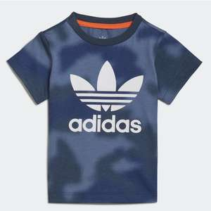 Kids adidas Allover Printed Camo T-shirt Using Code £6.24 + Free Delivery Via The Creators Club (Free to join) @ adidas