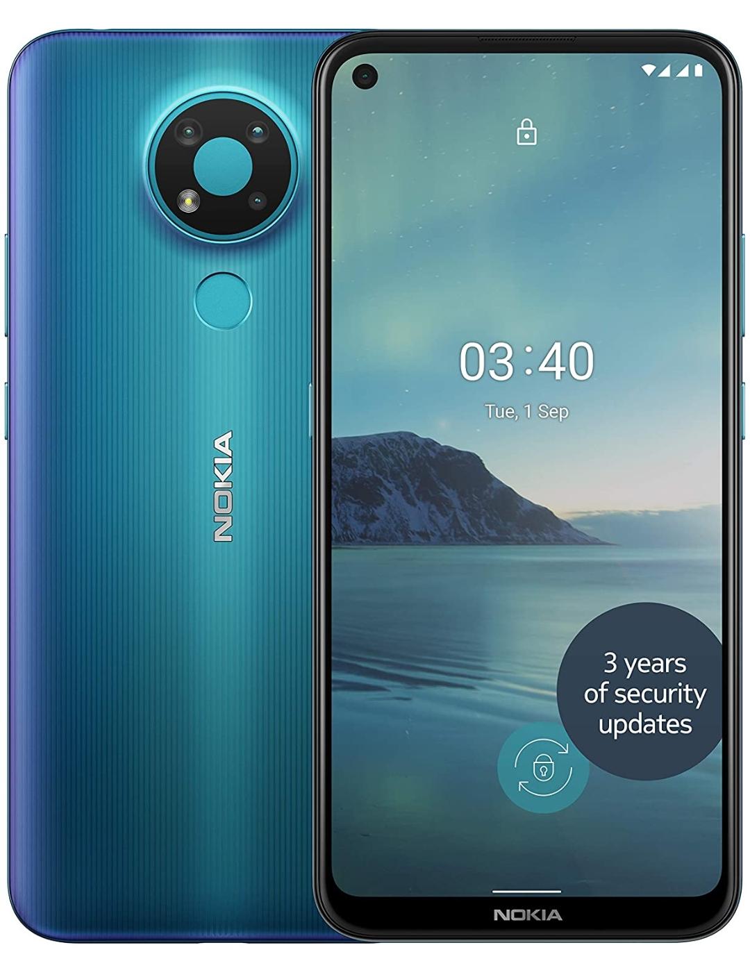 Nokia 3.4 6.39 Inch Android UK SIM-Free Smartphone - £79.99 @ Amazon Prime Exclusive
