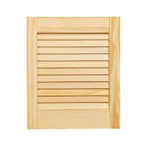 Wickes Pine Closed Internal Louvre Door - 457mm X 381mm Now £5 (Free Collection) @ Wickes