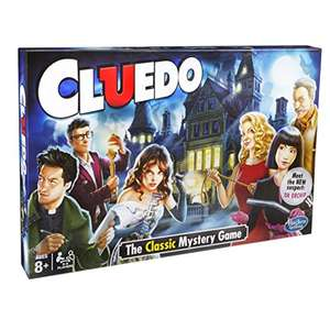Hasbro Gaming Cluedo the Classic Mystery Board Game £10.39 delivered @ Amazon (Prime Exclusive Deal)
