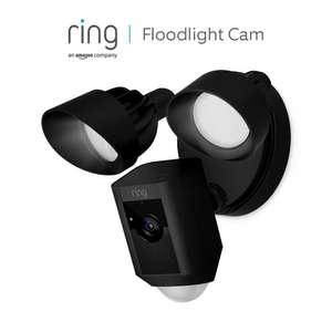 Ring Floodlight Cam by Amazon | HD Security Camera with Built-in Floodlights, Two-Way Talk and Siren Alarm - £119 @ Amazon Prime Exclusive