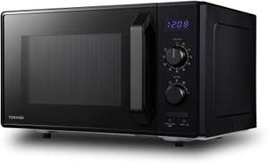 Toshiba 900W 23L Microwave Oven with 1050W Crispy Grill and Eco Function Loads of settings Black £60.99 Amazon Prime Exclusive
