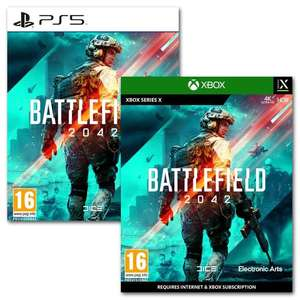 Pre-Order - 22/10/2021 - Battlefield 2042 on Xbox Series X or PS5 - £53.96 [Physical Copy] Using Code @ Gamebyte