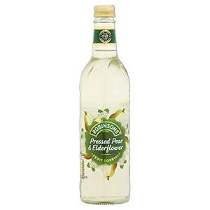 Robinsons Fruit Cordial, Pressed Pear and Elderflower Cordial, 500ml £2 Prime at Amazon (£4.49 non Prime)