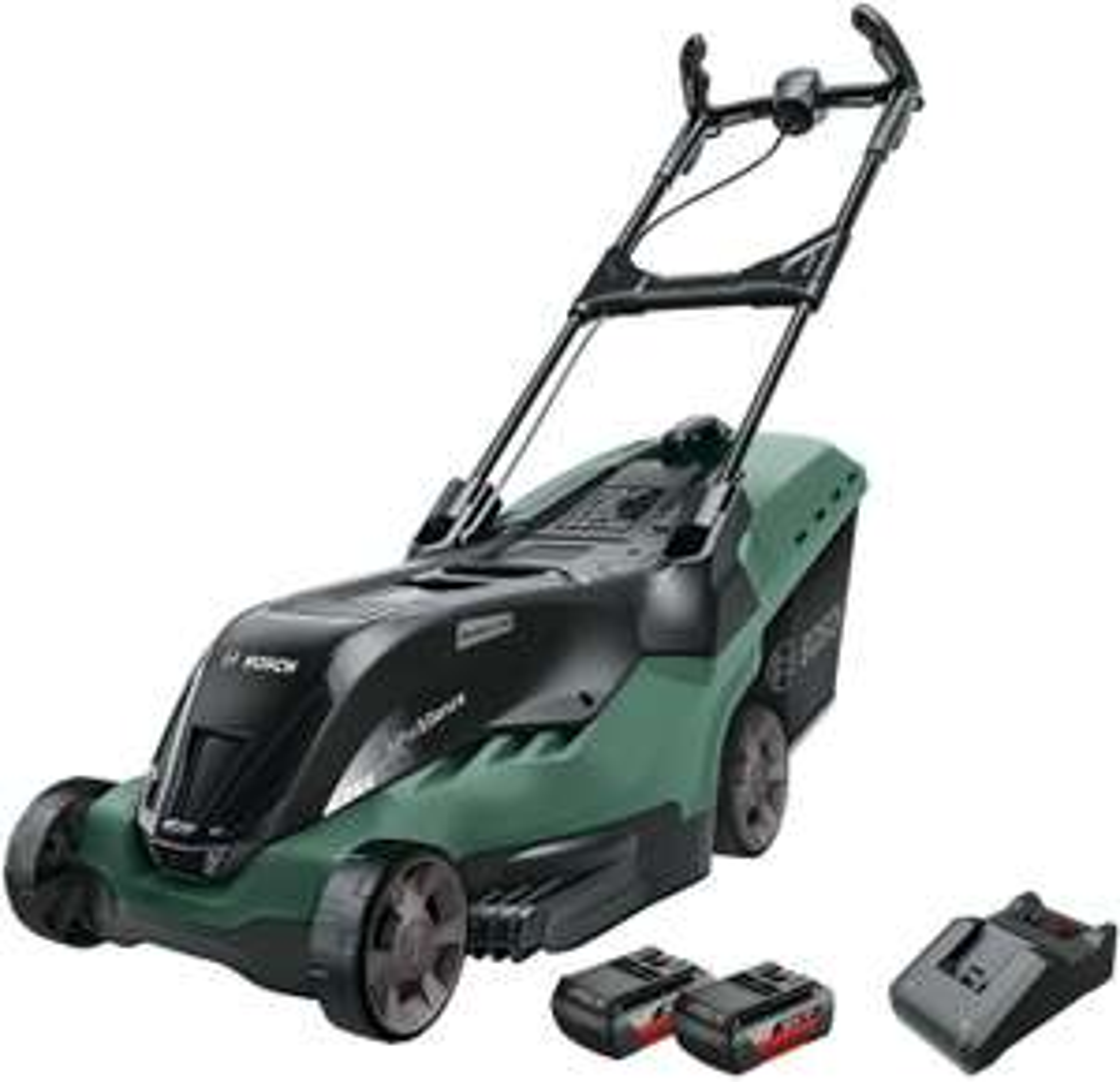 Bosch Cordless Lawnmower AdvancedRotak 36-660 + 2x Battery 2.0 Ah - £345.17 @ Amazon Prime Exclusive