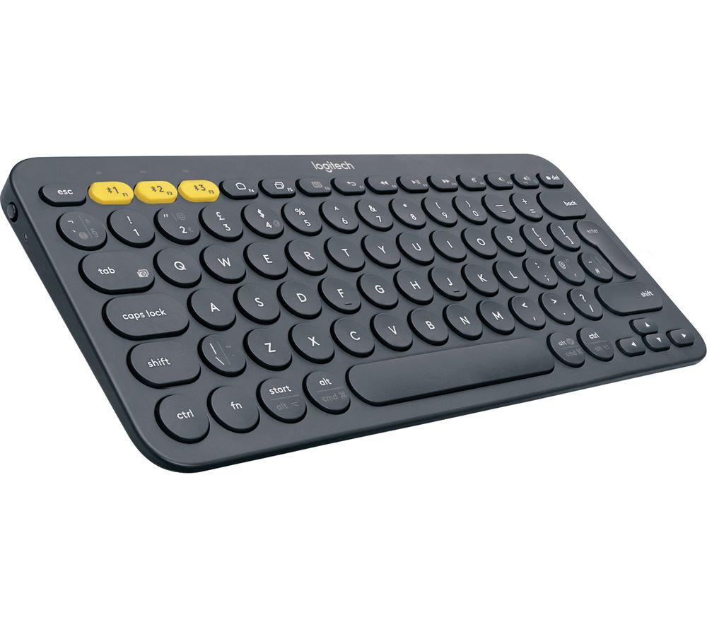 Logitech K380 Wireless Keyboard - Dark Grey - £20.99 delivered @ Currys PC World