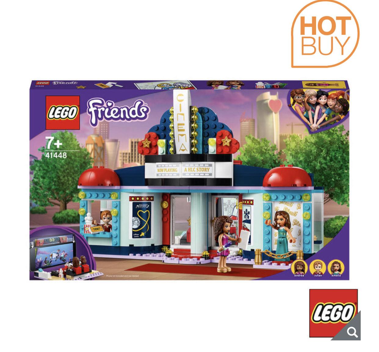 LEGO Friends Heartlake City Movie Theatre - Model 41448 £22.89 (Membership Required) @ Costco