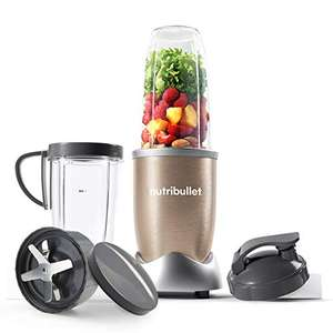 NutriBullet 900W Blender Champagne Multi-Function Blender – 2 Cup Sizes and Stay Fresh Lid £59.99 (Prime Exclusive) @ Amazon