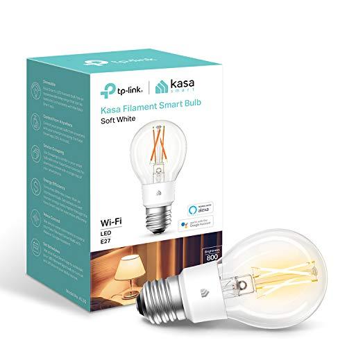 Kasa Smart Bulb by TP-Link, WiFi Filament Light Bulb B22 & E27 - £7.99 @ Amazon Prime Exclusive