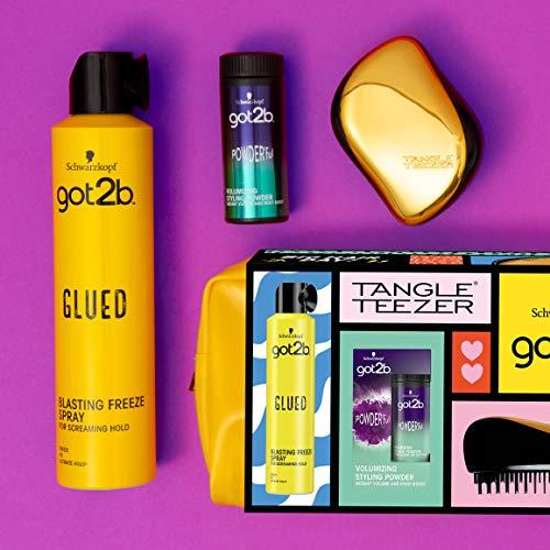 Schwarzkopf Gift Set - Tangle Teezer, Blast Freeze Spray, Volumizing Powder'ful & Wash Bag £7.99 @ Amazon (Prime Exclusive)