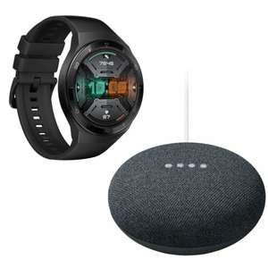 HUAWEI Watch GT 2e 46mm (Black / Green / Red / White) + Google Nest Mini 2nd gen for £87.99 delivered @ Currys PC World