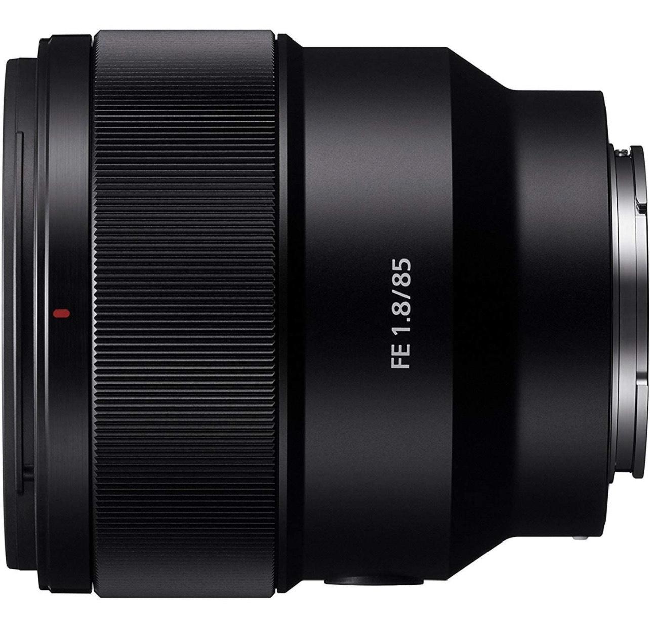 Sony SEL85F18 E Mount Full Frame 85 mm F1.8 Prime Lens - Black £352 (Prime Exclusive) @ Amazon