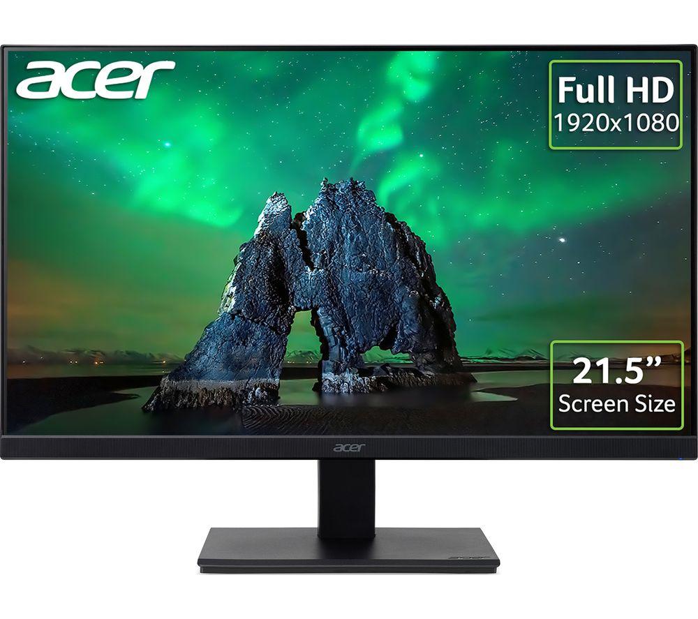 "ACER V227Qbip Full HD 21.5"" IPS LCD Monitor - Black £64.99 using code @ Currys PC World"