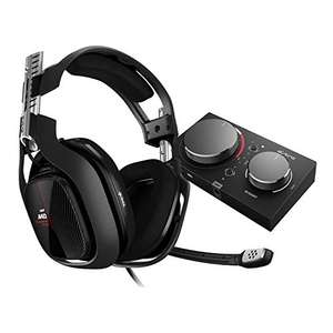 ASTRO Gaming A40 TR Wired Gaming Headset + MixAmp Pro TR - £179.99 @ Amazon (Prime Exclusive Deal) Black/Red